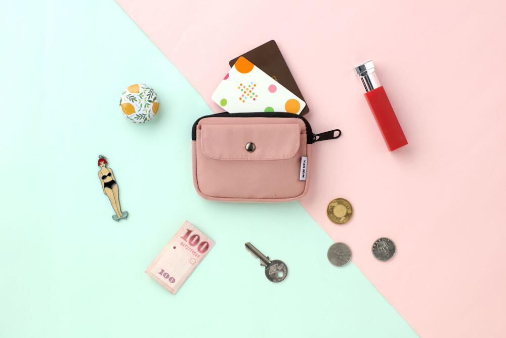 yun jointwill-時尚零錢包 隨身包 小包 證件包 鑰匙圈 防潑水