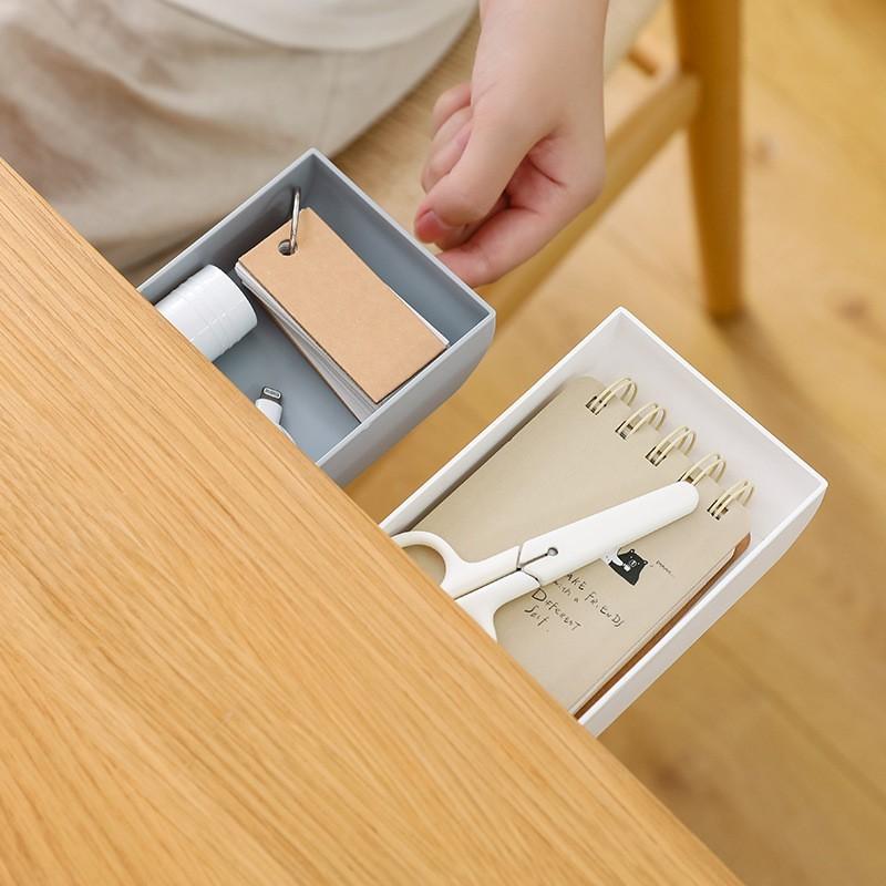 效除小舖辦公室必備收納神器 隱藏式 桌下收納盒