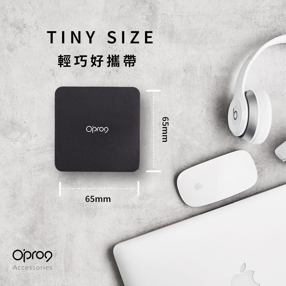 opro9 iphone快充組57w- pd電源供應器+ typec to lightning編織線