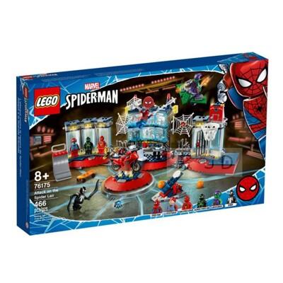76175【LEGO 樂高積木】Marvel 漫威系列 - 蜘蛛人總部襲擊 (10折)