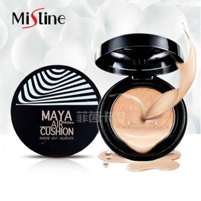 泰國 Mistine Maya氣墊粉餅 完全遮瑕自然系裸妝 肌膚透亮 (5折)