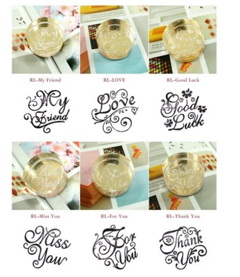 手做可愛DIY新奇文創系列高質感水晶印章 (6折)