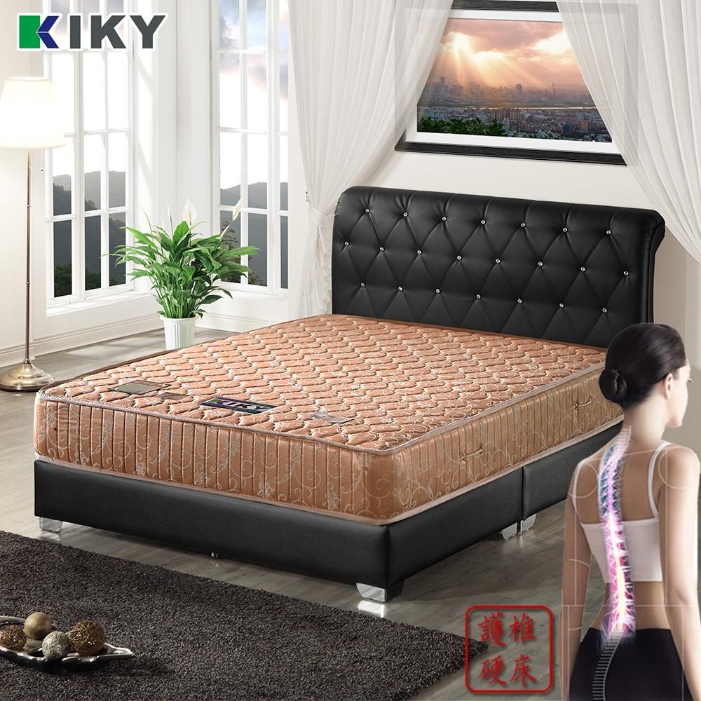 kiky 一代德式旗艦護背硬式彈簧床墊 雙人5尺
