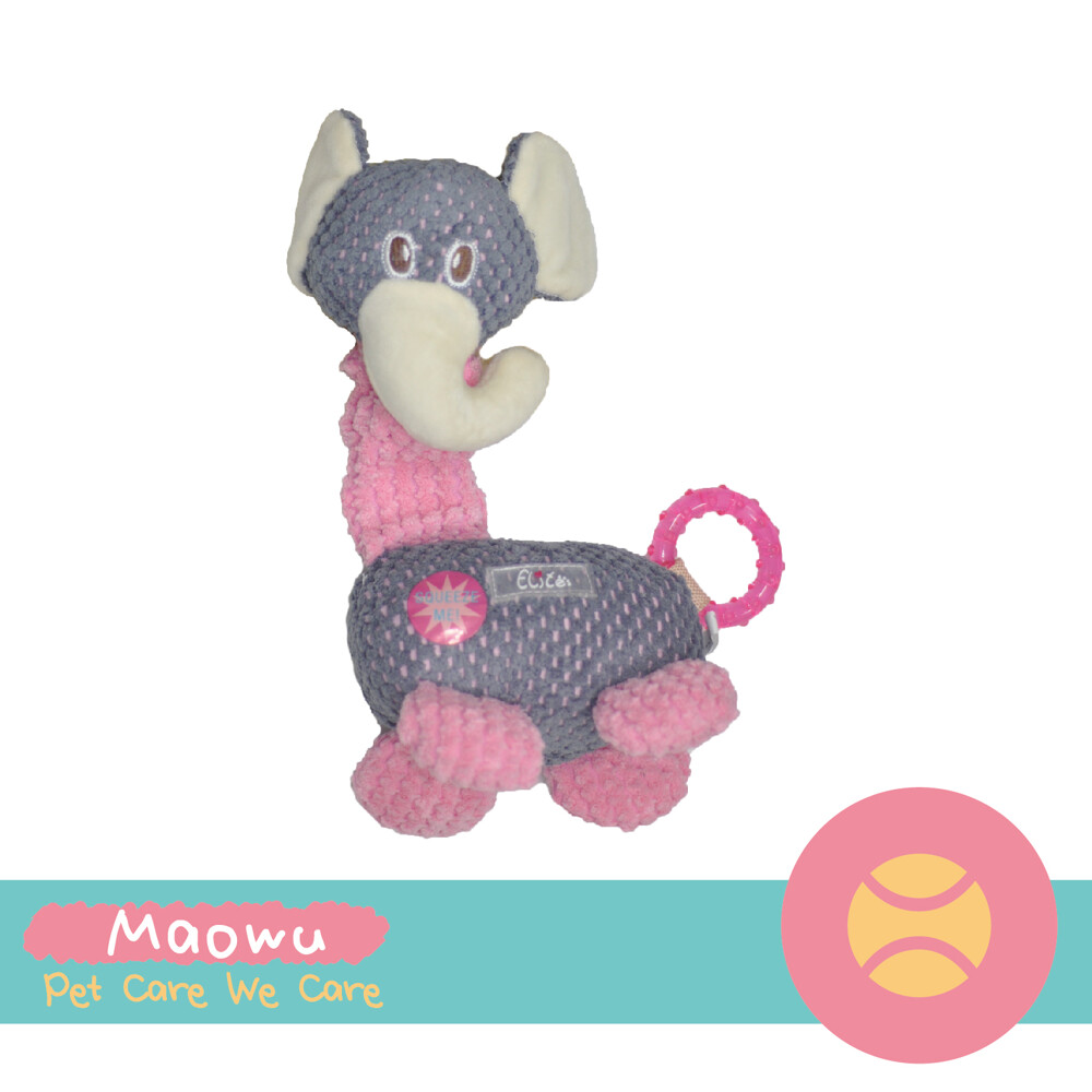 毛物極選elite 長頸絨毛玩具-大象