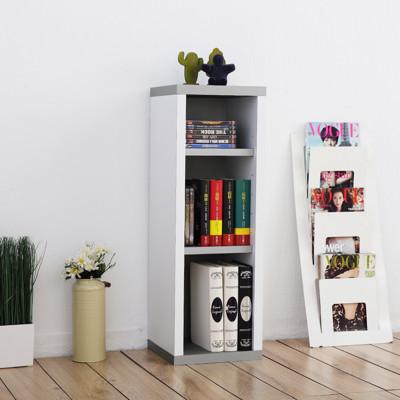 《Accessco》日系雙色三格厚板收納書櫃 (5.5折)