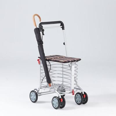 第二代《安心生活》銀髮族 日式EZGO休閒購物推車 (5.5折)