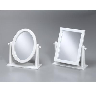 《閱讀歐洲》典雅靚白桌上鏡 (兩款可選) (6.3折)