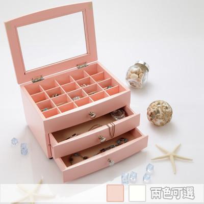 日式の紅粉佳人【 AccessCo】首飾珠寶收藏箱 (4.8折)