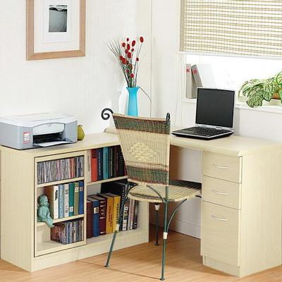 『第二代』日式魔術空間 厚板 書桌櫃 (白橡木色) (5.6折)