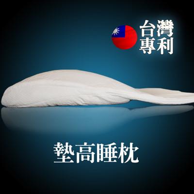 【睡眠達人irest】墊高睡枕頭,有助於減少睡覺時火燒心現象,台灣研發製造,4500g (1入) (4折)