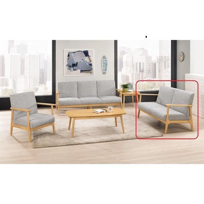 新精品km-722-7 范倫休閒沙發雙人椅 (不含其他商品)台北到高雄/滿三千搭配車趟免運費