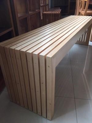 【新精品】GZS-04 4尺山毛櫸全實木板凳(單) 不含餐桌與其他商品 (8.7折)