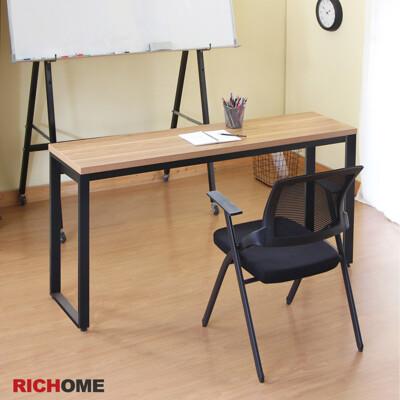 【RICHOME】杜克160CM40CM工作桌/電腦桌/辦公桌/會議桌/長桌/書桌 (辦公室首選)