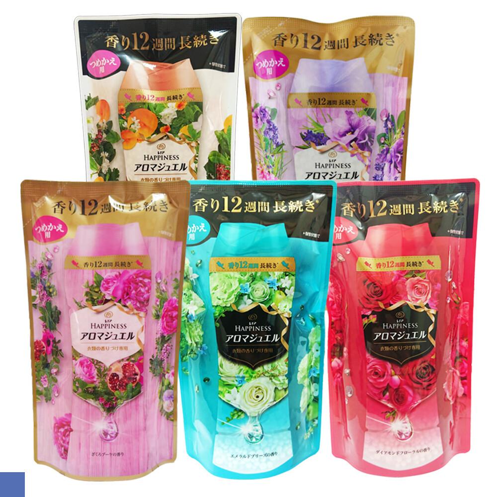 日本 p&g 洗衣芳香顆粒 香香豆 補充包 袋裝 455ml 全新