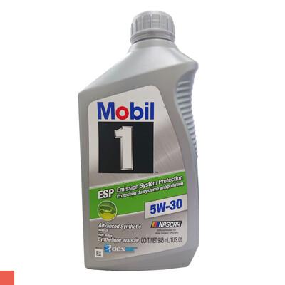 MOBIL 1 ESP 5W30 全合成機油 汽柴油 美孚 5W-30 946ml (7折)