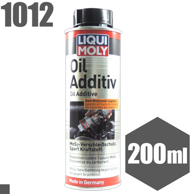 LIQUI MOLY 二硫化鉬 機油精 力魔 Oil Additiv MoS2 No.1012 (7.2折)