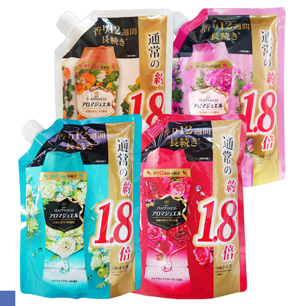 日本 p&g 洗衣芳香顆粒 香香豆 補充包 袋裝 805ml 全新