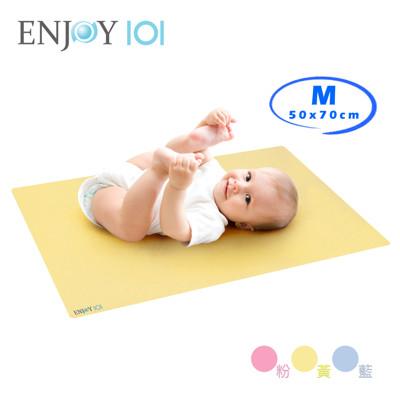 《ENJOY101》矽膠布防螨止滑防水隔尿墊/尿布墊-M(50x70cm) (8折)