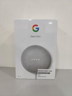 Google Nest Mini 2代【粉炭白】說中文/聽音樂/控制智慧家電 (9折)