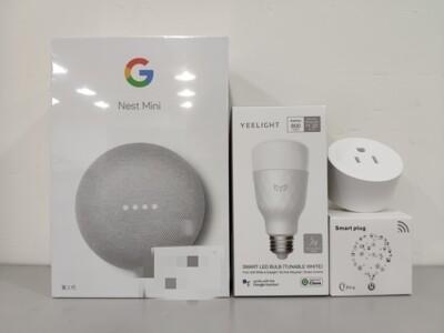 Google Nest Mini 2代 智慧家庭組合 內含智慧音箱+智慧燈泡+智慧插座 (7.8折)