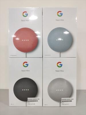 Google Nest Mini 2代!說中文/音樂免費/支援米家/Chromecast(一年保固) (9折)