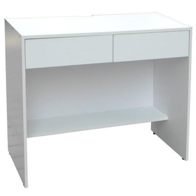北歐風 高級 木芯板 雙抽 辦公 電腦 書桌 辦公桌 (106*45*75) (7.1折)