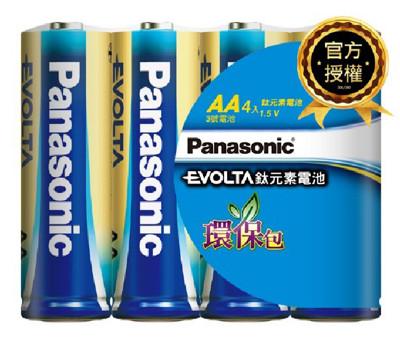 國際牌Panasonic 3號 Evolta鹼性電池 4/入 (5.1折)