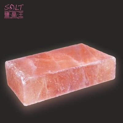 鹽燈專家【鹽晶王】喜馬拉雅山100%純天然結晶長方形玫瑰岩(鹽板/鹽烤板/鹽磚) (7.5折)