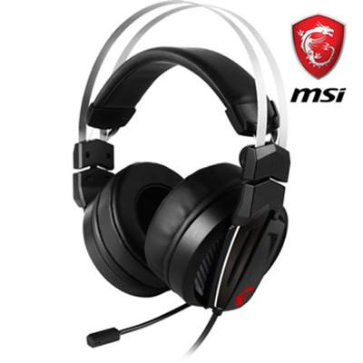 九月促銷價  MSI微星Immerse GH60 Hi-Res職業級電競耳麥 (8折)