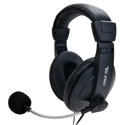 TCSTAR 雙耳頭戴式耳機麥克風 TCE8766 (7.7折)
