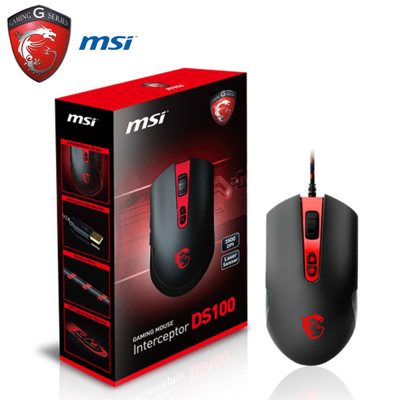 MSI微星 DS100 玩家級電競滑鼠 (8折)