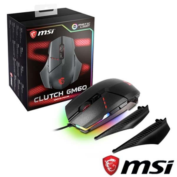 msi clutch gm60 gaming 電競 滑鼠