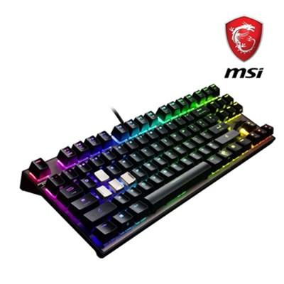 微星 MSI GK70 Cherry MX RGB 機械電競鍵盤 (紅軸版) (9.5折)