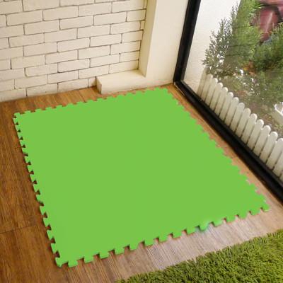 【新生活家】EVA運動安全地墊62x62x1.3cm12入-綠色 (0.5折)