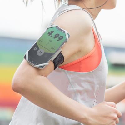 Bone Run Tie 跑步手機綁-彈性矽膠手機運動臂跑步手機臂套 (6折)