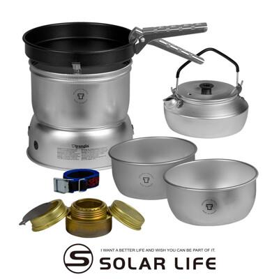 瑞典Trangia Storm Cooker 27-4UL 超輕鋁風暴酒精爐套鍋組含超輕鋁壺0.6L (8.2折)
