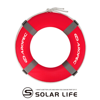 AROPEC 可換式繩索救生圈(內直徑33cm).船用救生圈 EVA實心游泳圈 免充氣發泡綿泳圈 (7.8折)