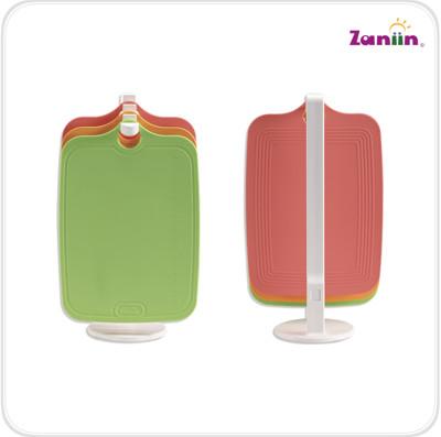 Zaniin TPU刻度方形砧板組 - 不含輔助環 (無毒、耐熱、環保砧板) (7.2折)