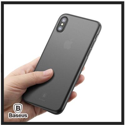 Baseus倍思 iPhoneX 羽翼殼 抗刮手機殼 裸機手感 抗刮手機保護套 (6.1折)