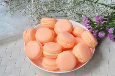 香草哲雪甜橙馬卡龍手工皂 (6.8折)