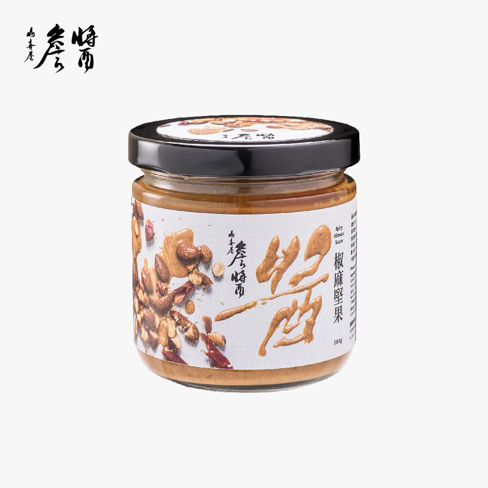 詹醬-椒麻堅果醬 180g/罐