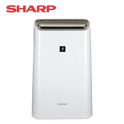 【SHARP夏普】12L空氣清淨除濕機 DW-H12FT-W (9.4折)