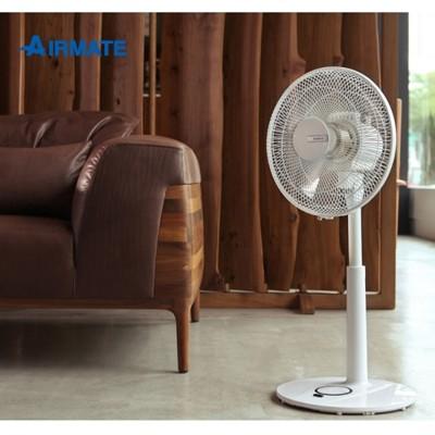 艾美特 12吋 ac遙控立地電扇 as3083r 3段風量調節 6小時預約定時 馬達保固10年 (6.5折)