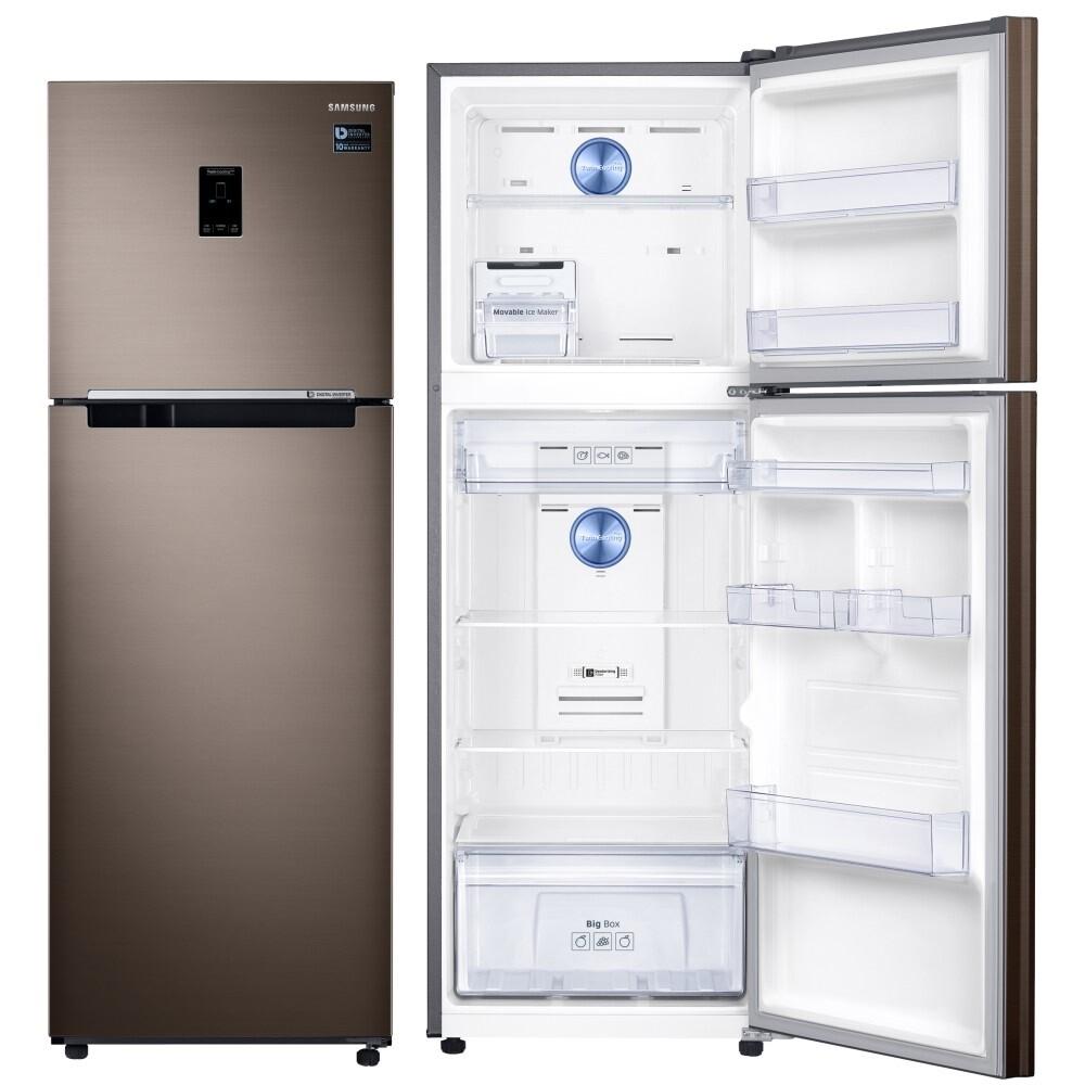 6/30前回函送贈品 samsung 三星 323l一級能效雙循環雙門冰箱 rt32k553fdx