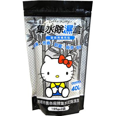 【Hello Kitty】集水袋除濕盒補充包-竹炭 (6.5折)