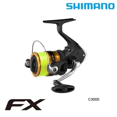 【猛哥釣具】SHIMANO 19 FX 1000型~3000型紡車式捲線器(附線) 路亞 磯釣 軟絲 (6.2折)
