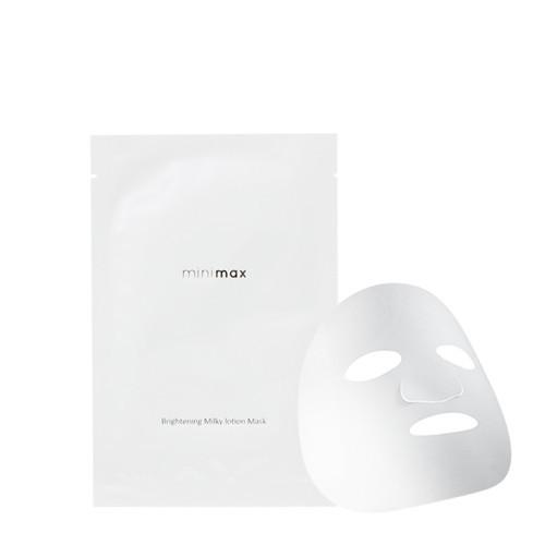 minimax 肌透亮白乳霜面膜