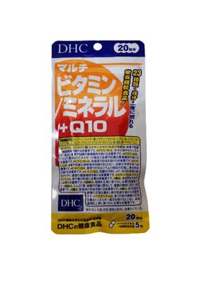 DHC保健食品系列 綜合維他命+礦物質+Q10 20日份(1日5粒) 【FIND新鮮貨】 (8.1折)