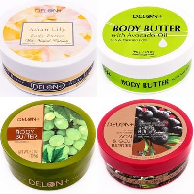 DELON~冬季必備BODY BUTTER身體滋養霜(葡萄籽/巴西莓/亞洲百合/酪梨果油)任選 (6.7折)