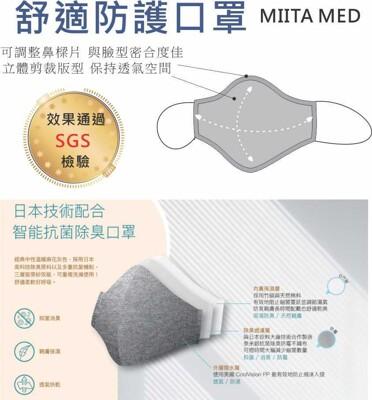 日本科技舒適抗菌銀離子口罩 環保可水洗布口罩 (3.7折)